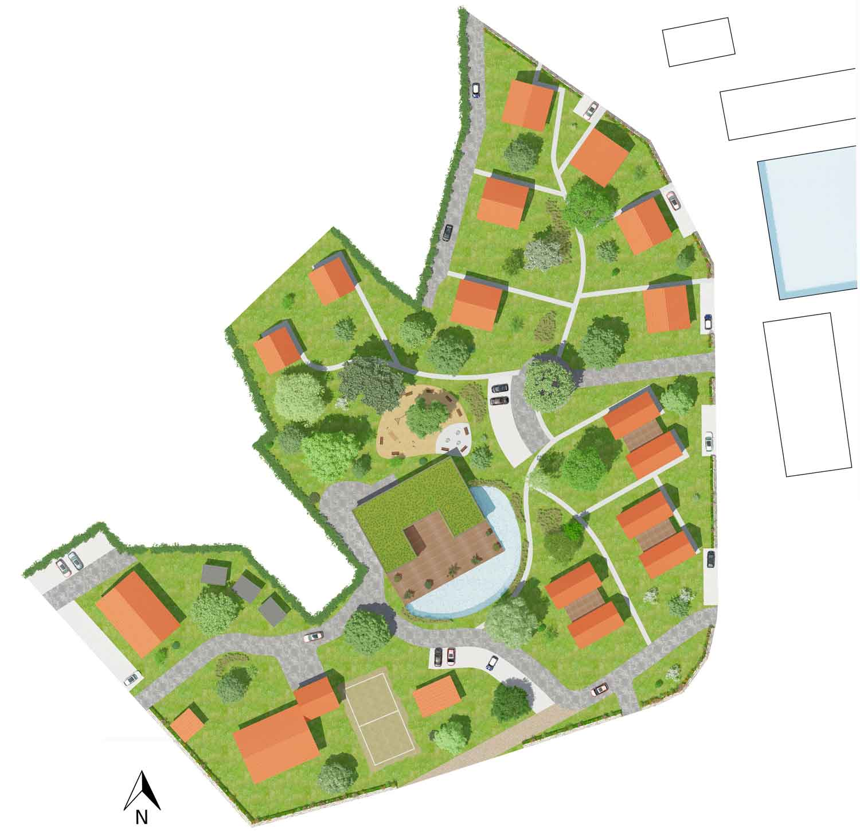 Masterplan Resort Stettiner Haff