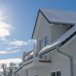 Barrierefreies Ferienhaus im Winter - Gaube