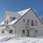 Barrierefreies Ferienhaus im Winter
