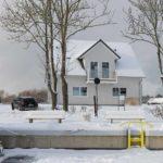 Ferienhaus 2 im Winter