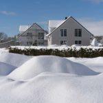 Barrierefreie Ferienhäuser 4 und 5 im Winter